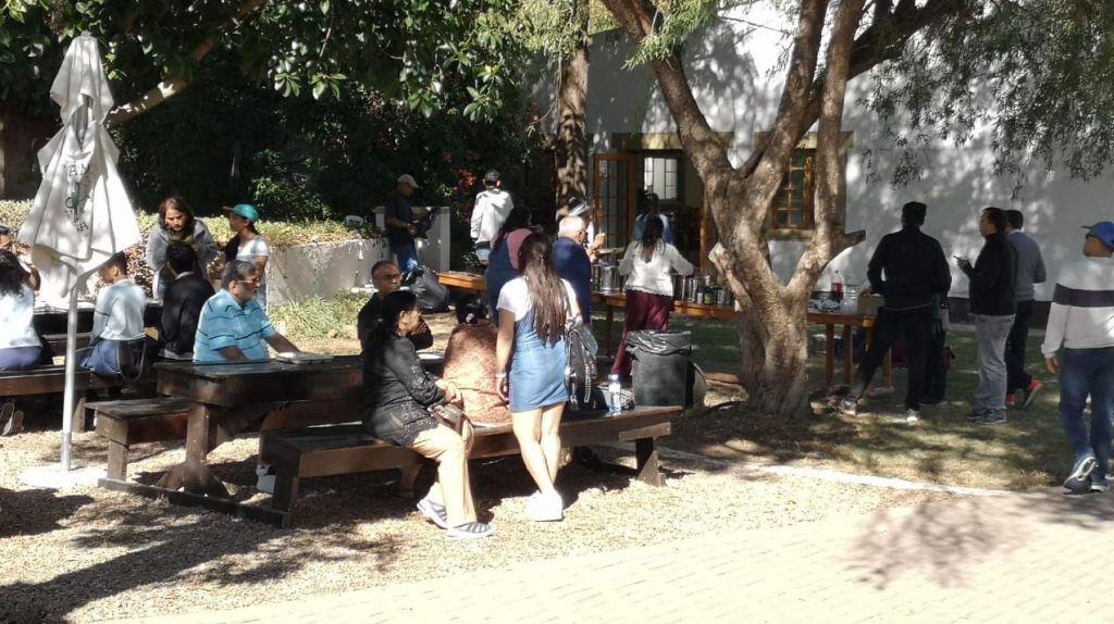 Cango Ostrich Farm - Indian Groups